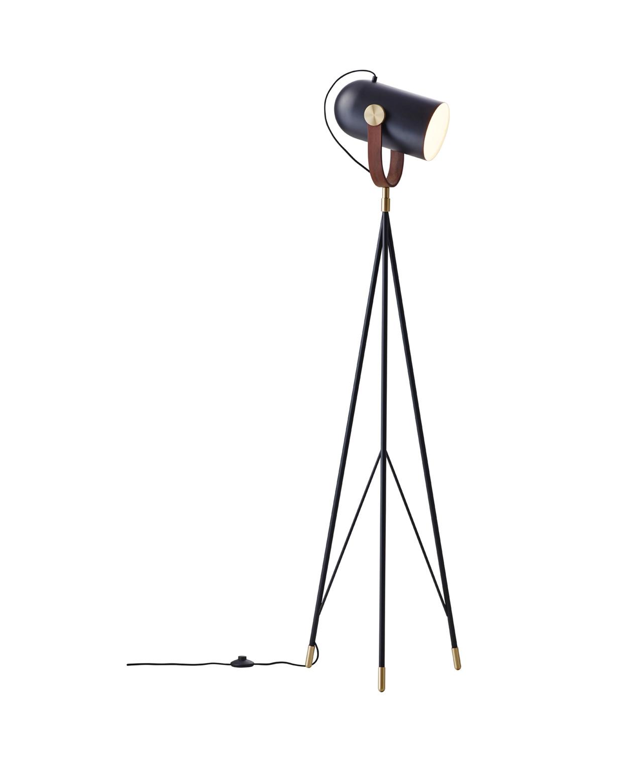Carronade gulvlampe sort - le klint fra Le klint fra lampemesteren.dk