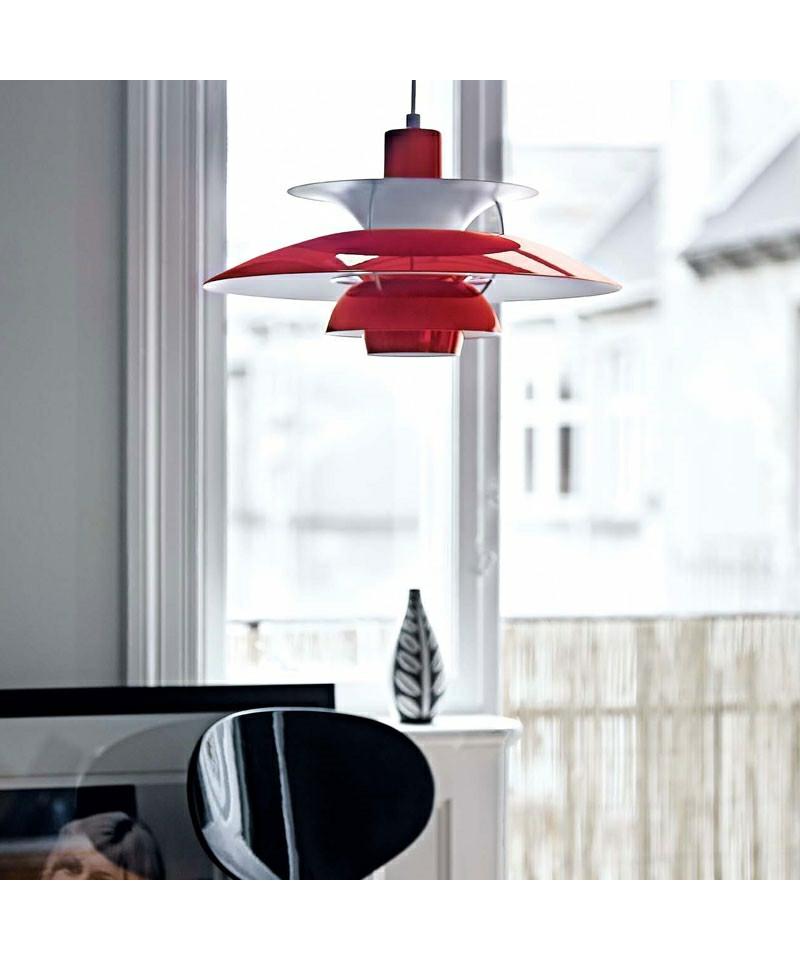 ph 50 chili red louis poulsen. Black Bedroom Furniture Sets. Home Design Ideas