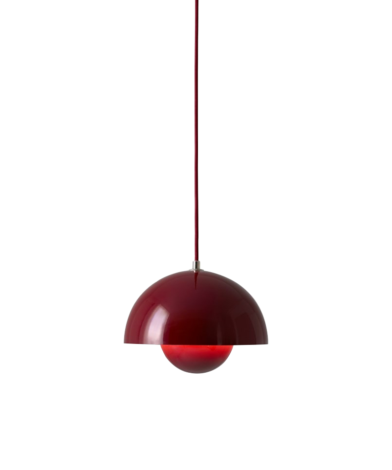 Image of   Flowerpot VP1 Pendel Deep Red - &tradition