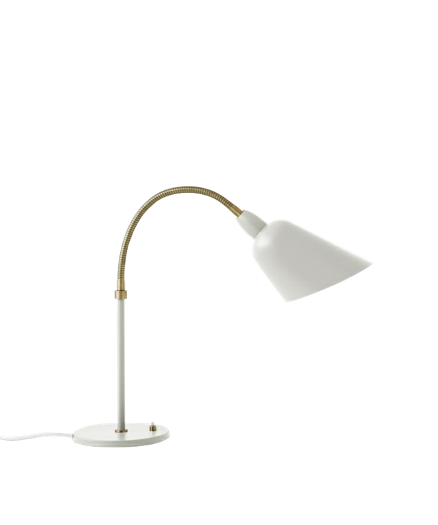 Image of   Bellevue Bordlampe AJ8 Elfenben Hvid & Messing - &tradition