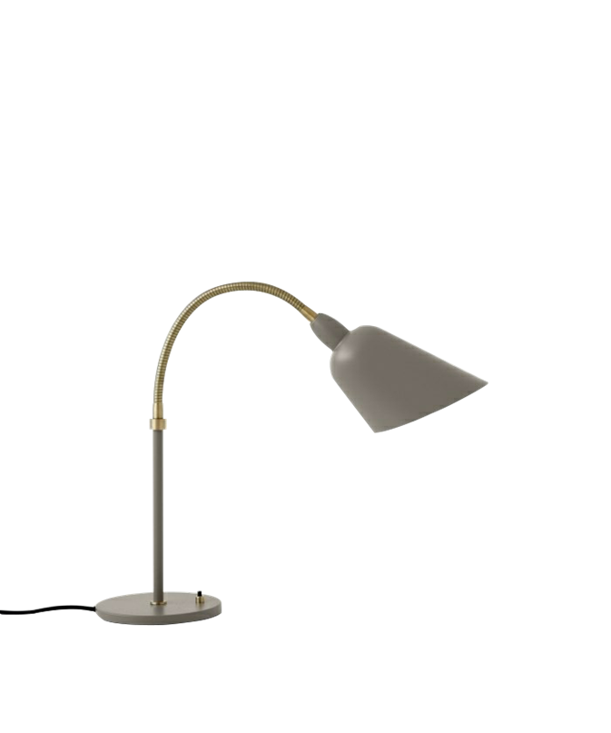 Image of   Bellevue Bordlampe AJ8 Grå Beige & Messing - &tradition
