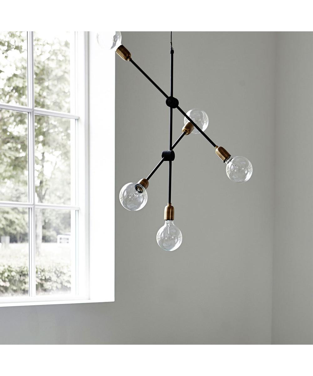 Oppdatert Molecular Pendant Lamp 5-bulb - House Doctor HB-99
