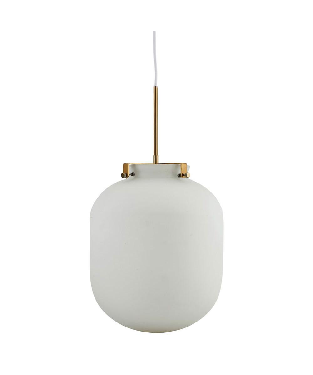 ball pendel lampe hvid house doctor lampekongen. Black Bedroom Furniture Sets. Home Design Ideas