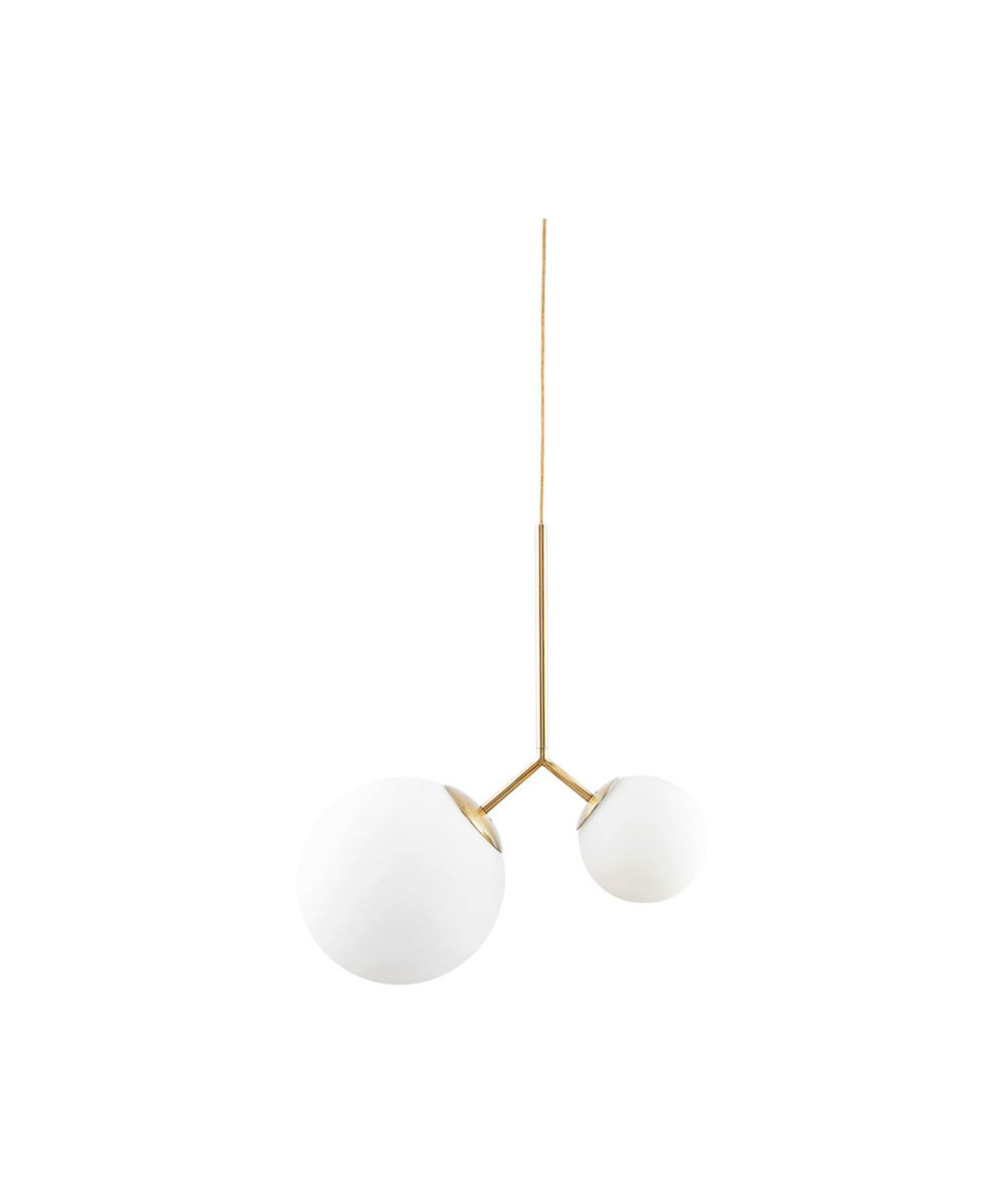 twis pendel lampe hvid house doctor lampekongen. Black Bedroom Furniture Sets. Home Design Ideas