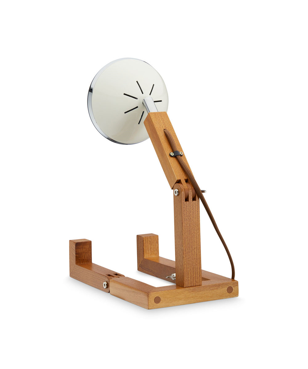 Mr. Wattson Table Lamp Vintage White - Piffany