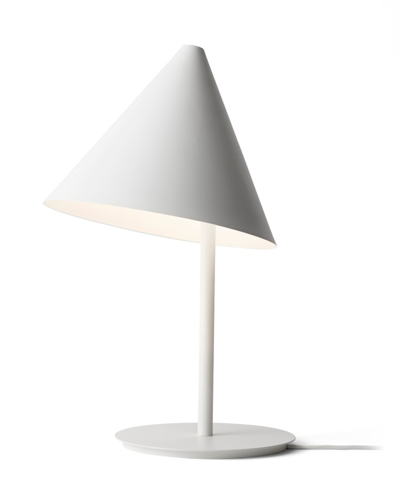 Image of   Conic Bordlampe Hvid - Menu