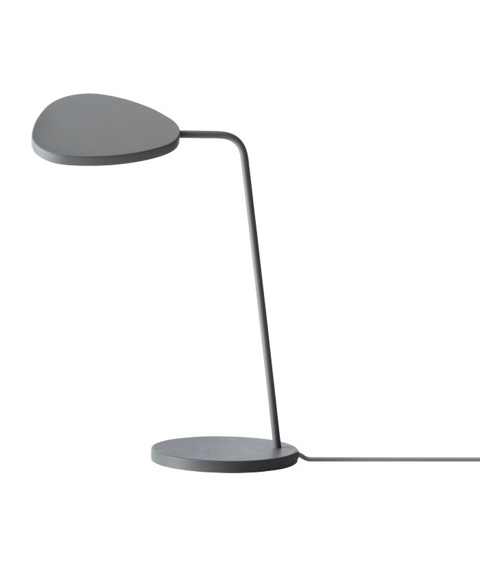 Image of   Leaf Bordlampe Grey - Muuto