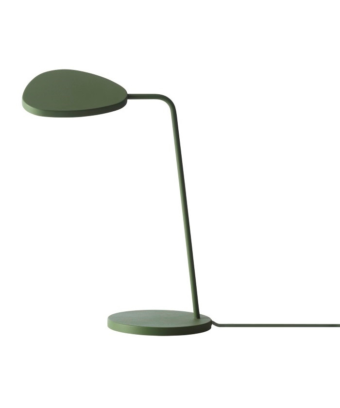 Image of   Leaf Bordlampe Green - Muuto