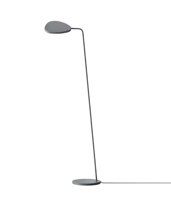 Image of   Leaf Gulvlampe Grey - Muuto