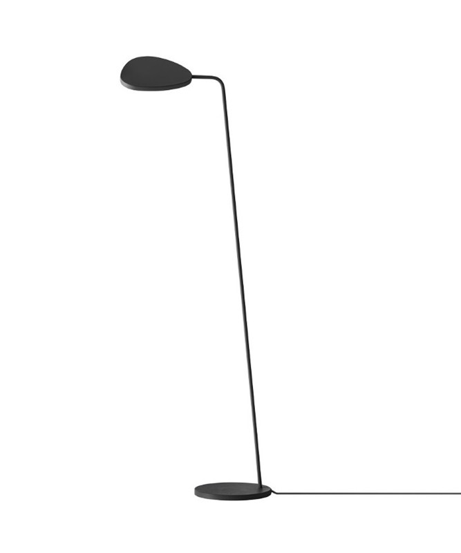 Image of   Leaf Gulvlampe Black - Muuto