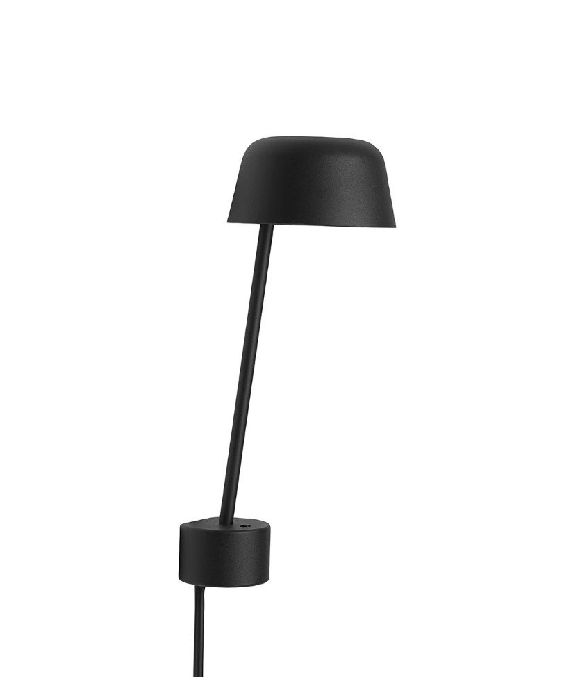 Image of   Lean Væglampe Black - Muuto