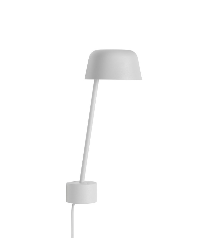Image of   Lean Væglampe Grey - Muuto