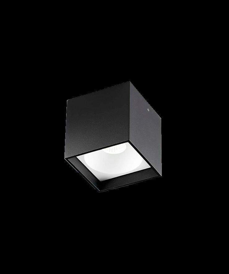 Solo Square Loftlampe LED Sort - LIGHT-POINT