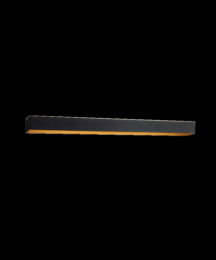 Image of   Mood 4 LED Væglampe Sort/Guld - LIGHT-POINT