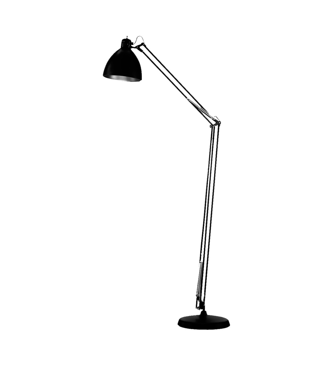 Image of   Archi F2 Gulvlampe Ø22 Mat Sort - LIGHT-POINT