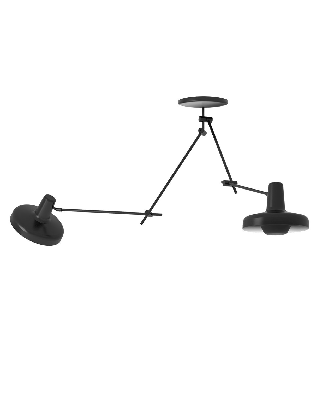 Image of   Arigato Loftlampe Dobbelt Sort - Grupa Products