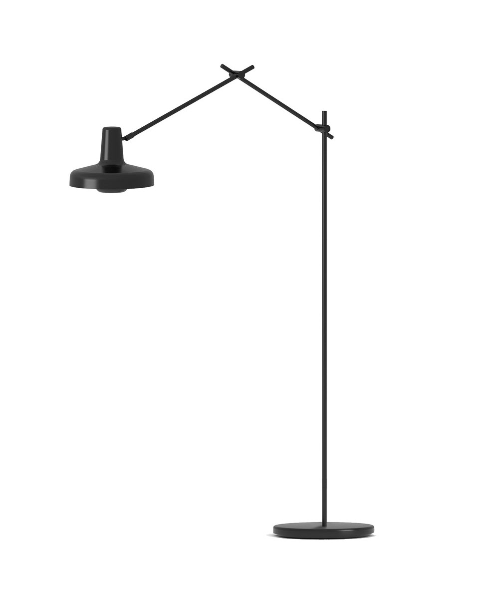 Arigato Floor Lamp Black Grupa Products