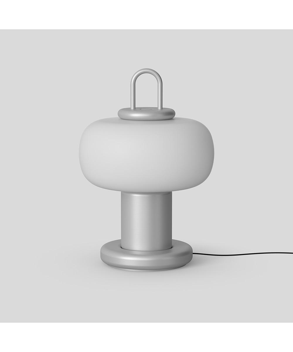 Nox Table Lamp Silver Astep