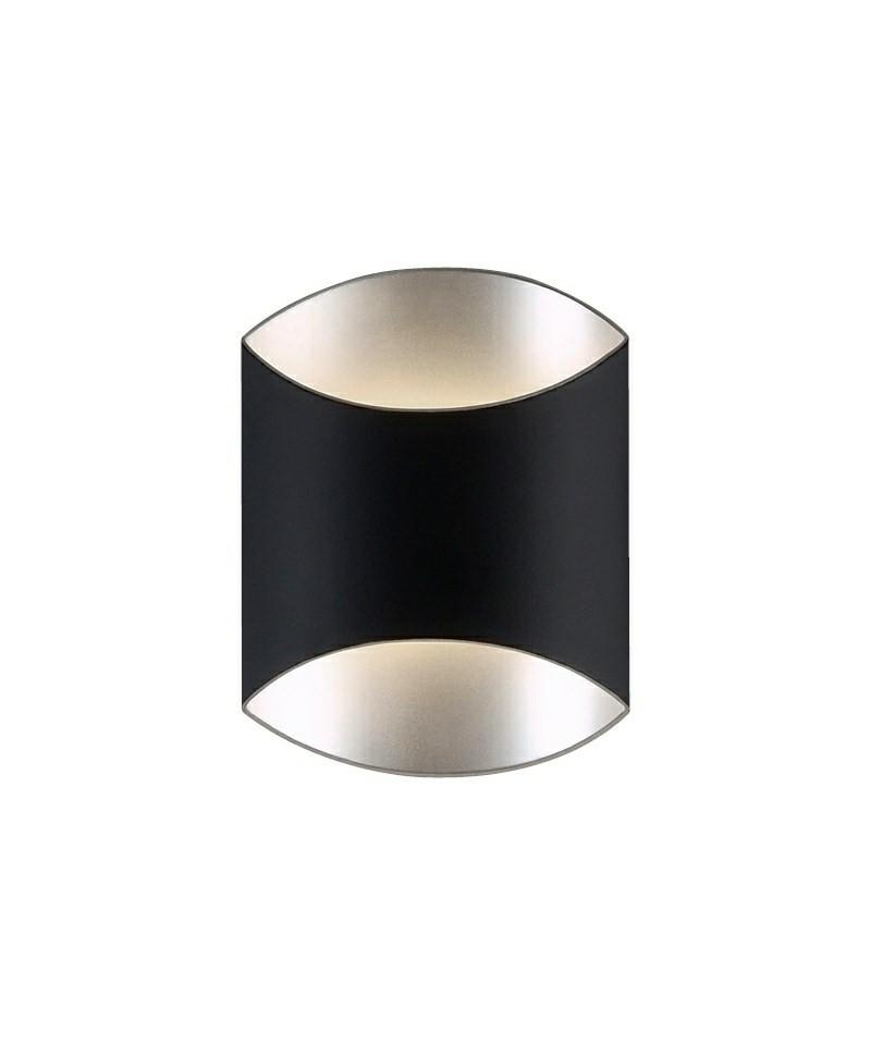 Darø – Archos 18 w1 væglampe mat sort - darø fra lampemesteren.dk