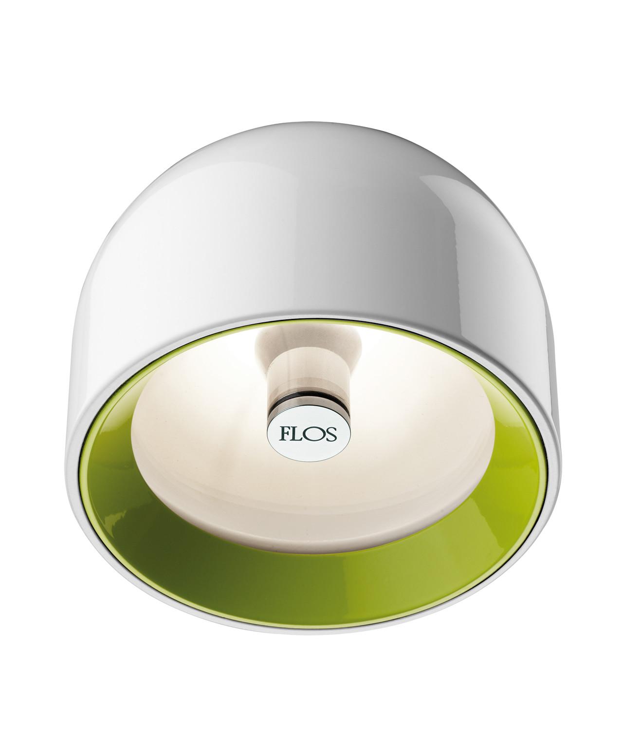 wan taklampe vegglampe hvit flos. Black Bedroom Furniture Sets. Home Design Ideas