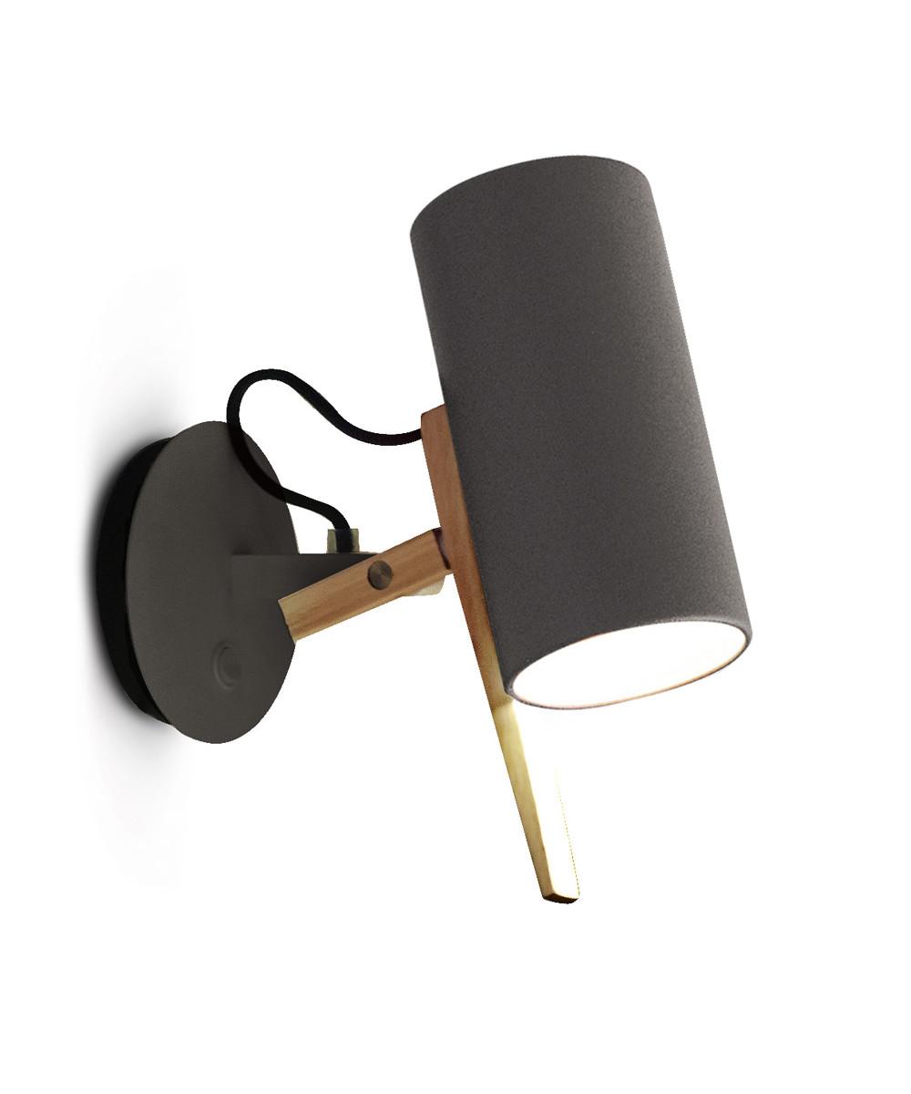 Marset Scantling væglampe grå - marset på lampemesteren.dk