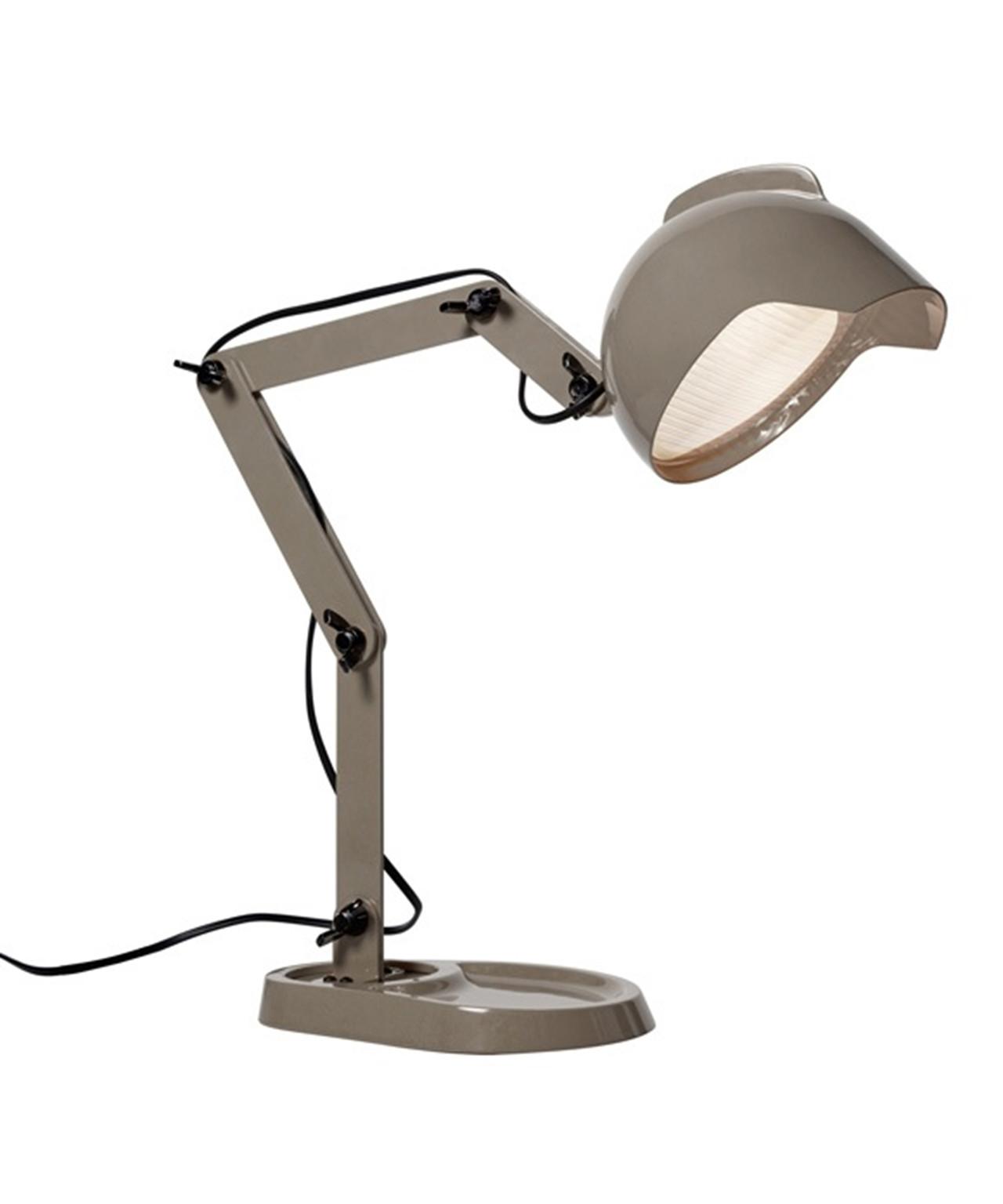 Duii bordlampe grå - diesel fra N/A fra lampemesteren.dk