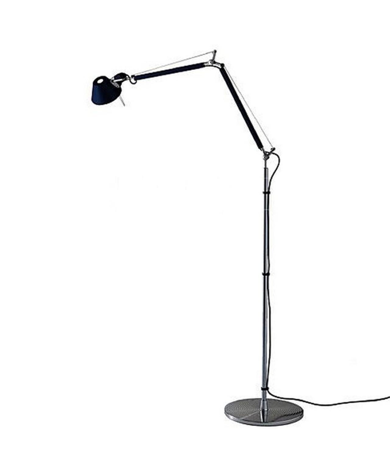 N/A – Tolomeo gulvlampe e27 sort - artemide fra lampemesteren.dk