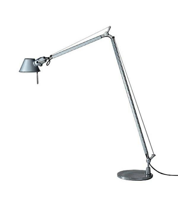 N/A Tolomeo lettura gulvlampe led alu - artemide på lampemesteren.dk