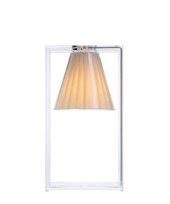 Image of   Light Air Bordlampe Beige - Kartell