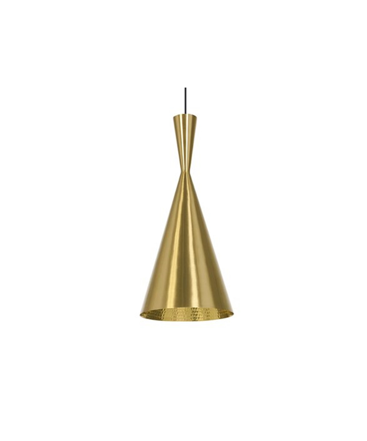 Image of   Beat Light Tall Messing - Tom Dixon