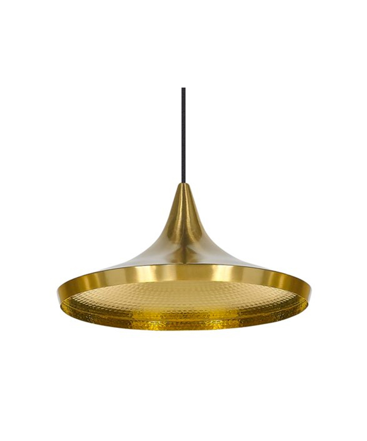 Image of   Beat Light Wide Messing - Tom Dixon