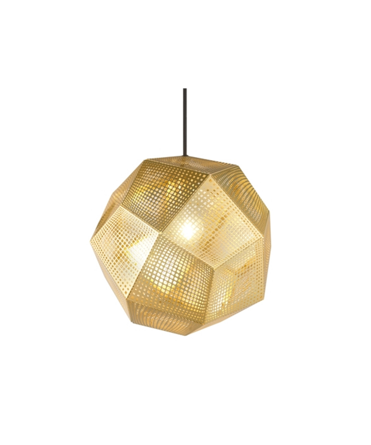 Image of   Etch Messing Pendel - Tom Dixon