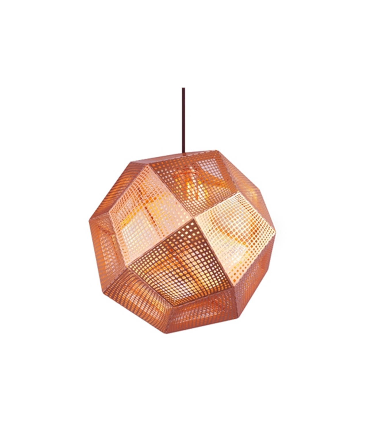 Image of   Etch Kobber Pendel - Tom Dixon