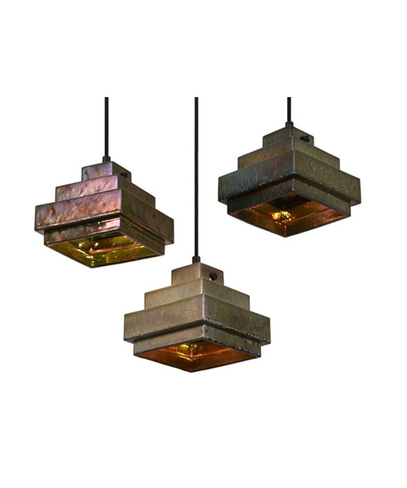 Image of   Lustre Square Pendel - Tom Dixon