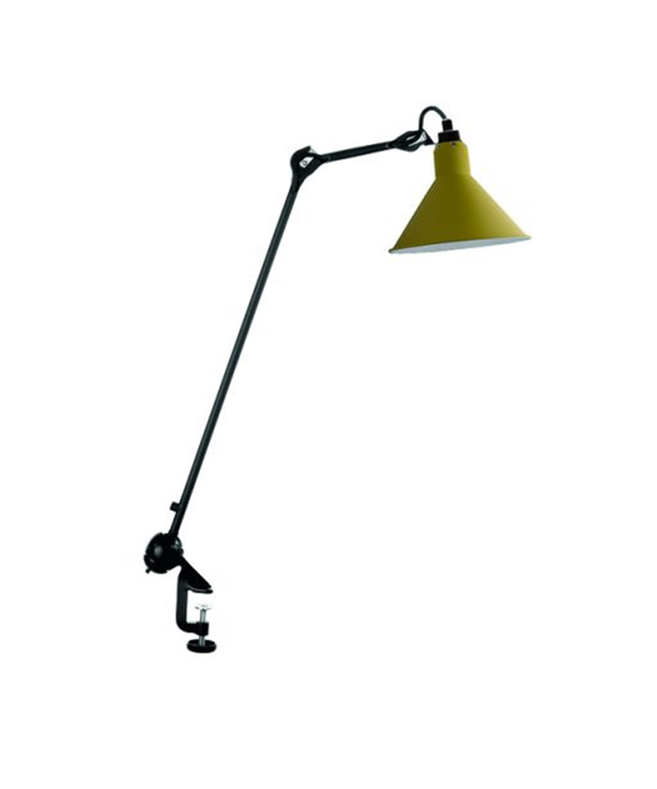 Image of   201 Bordlampe Gul - Lampe Gras
