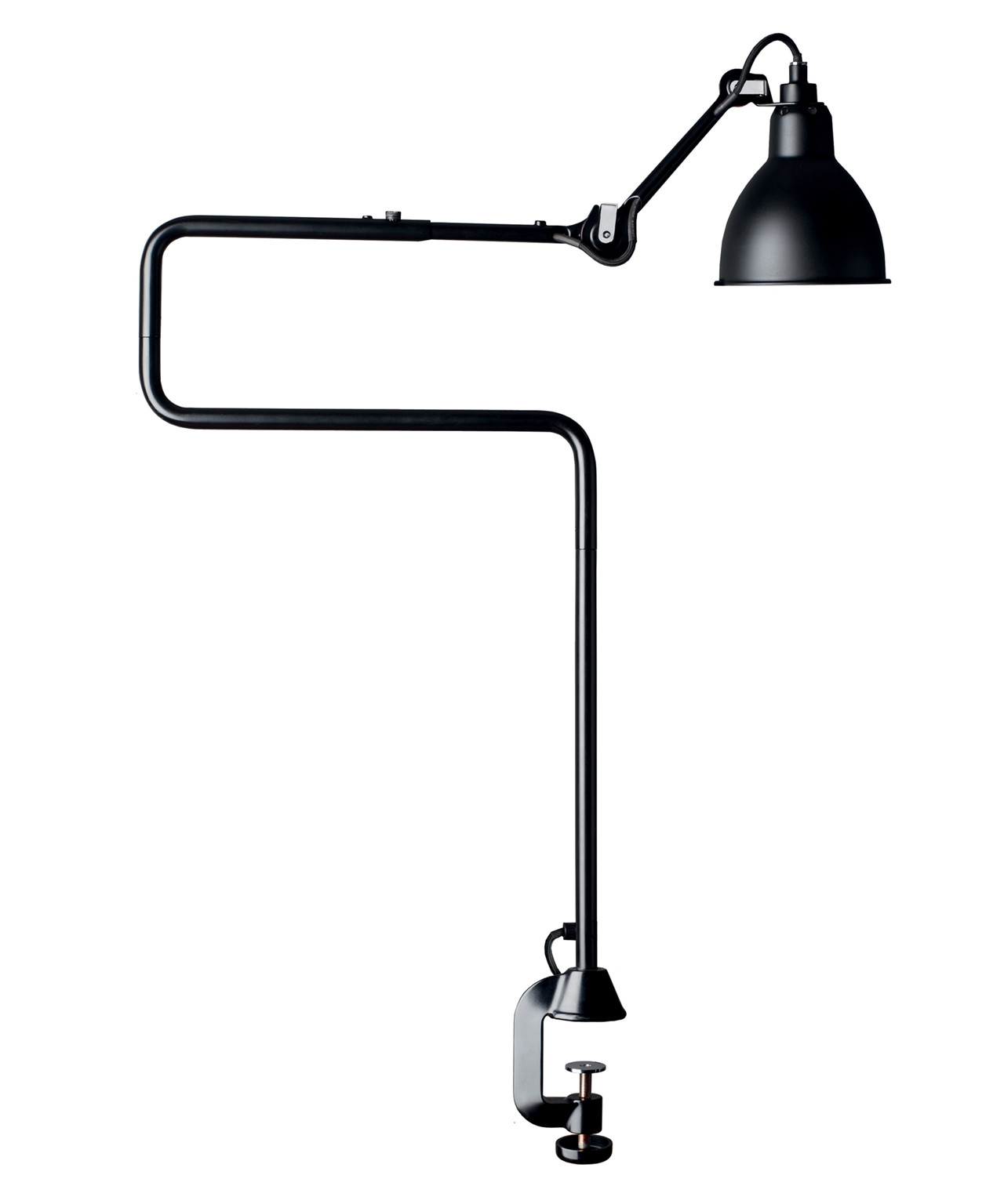 Image of   211/311 Bordlampe Sort - Lampe Gras