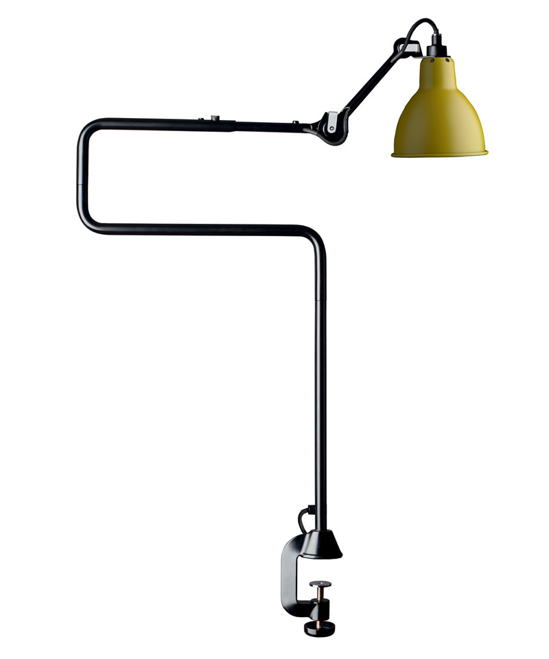 Image of   211/311 Bordlampe Gul - Lampe Gras