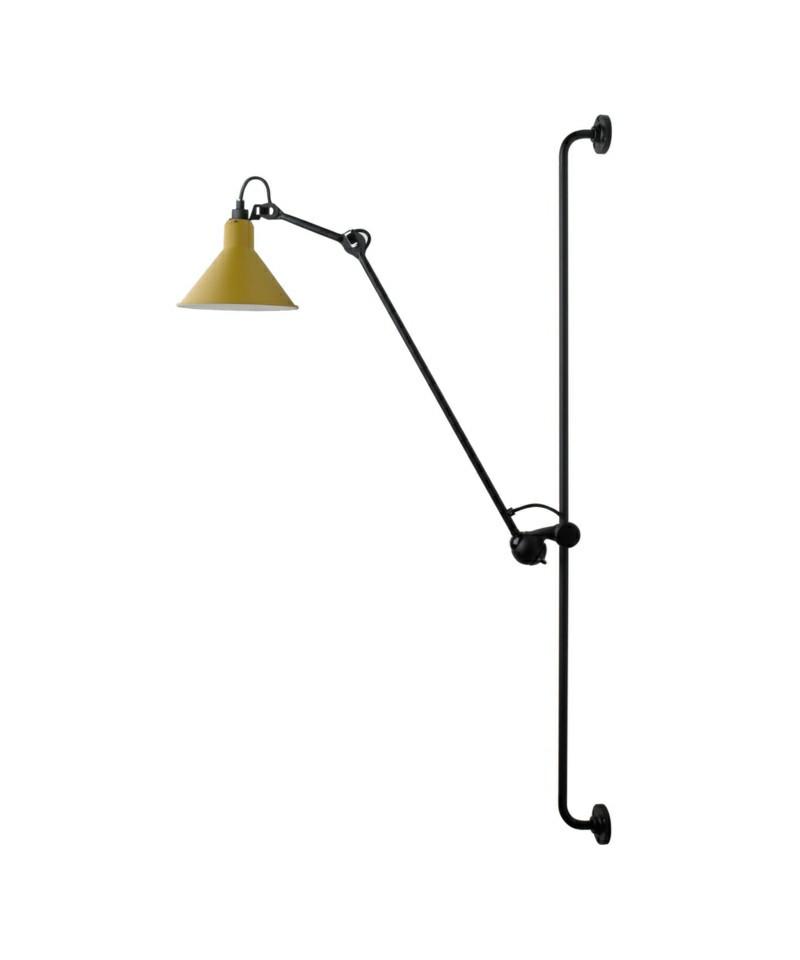 214 vegglampe gul lampe gras. Black Bedroom Furniture Sets. Home Design Ideas