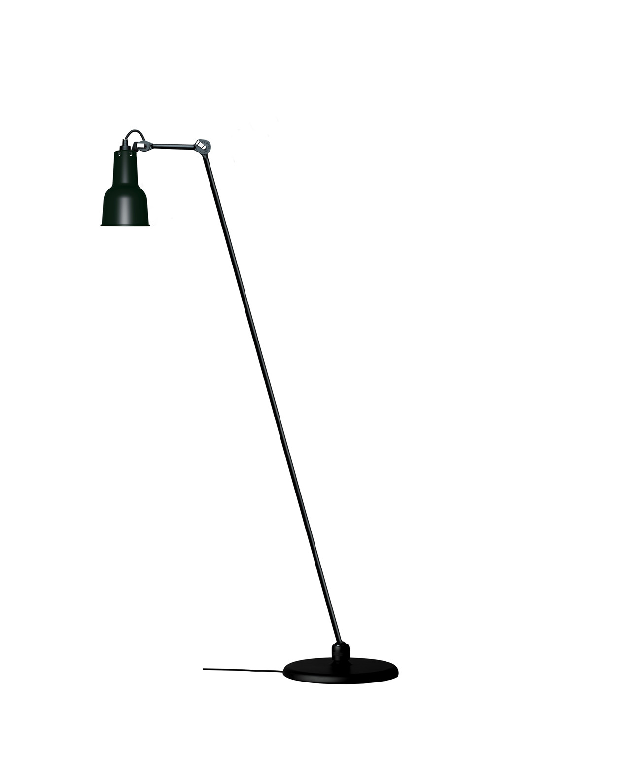 Image of   230 Gulvlampe Sort - Lampe Gras