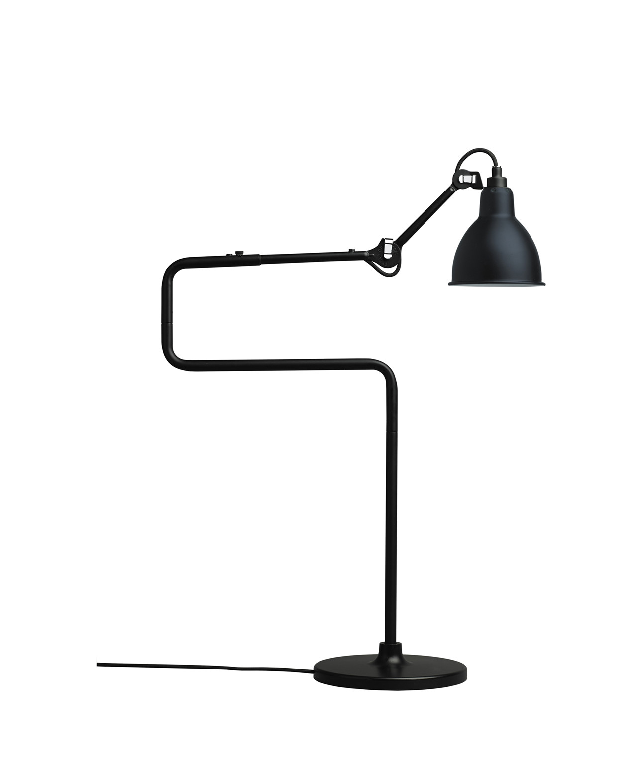Image of   317 Bordlampe Sort - Lampe Gras