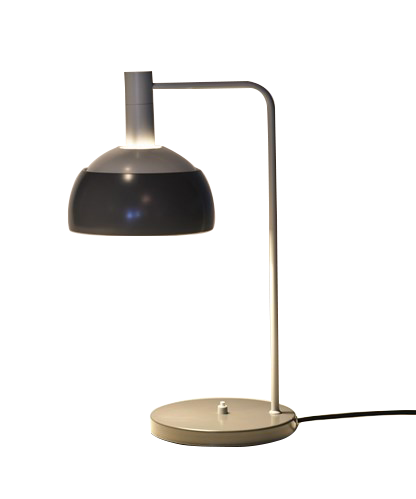 Finn juhl bordlampe grå - one collection fra One collection på lampemesteren.dk