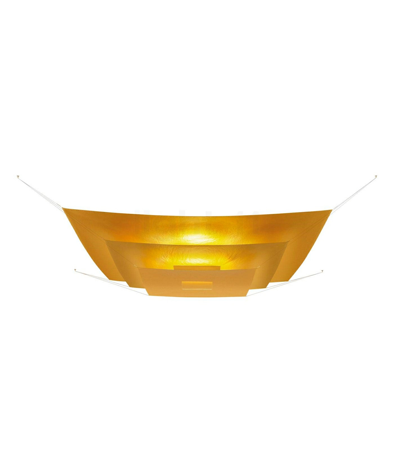 Image of   Luxury Pure Guld Loftlampe - Ingo Maurer