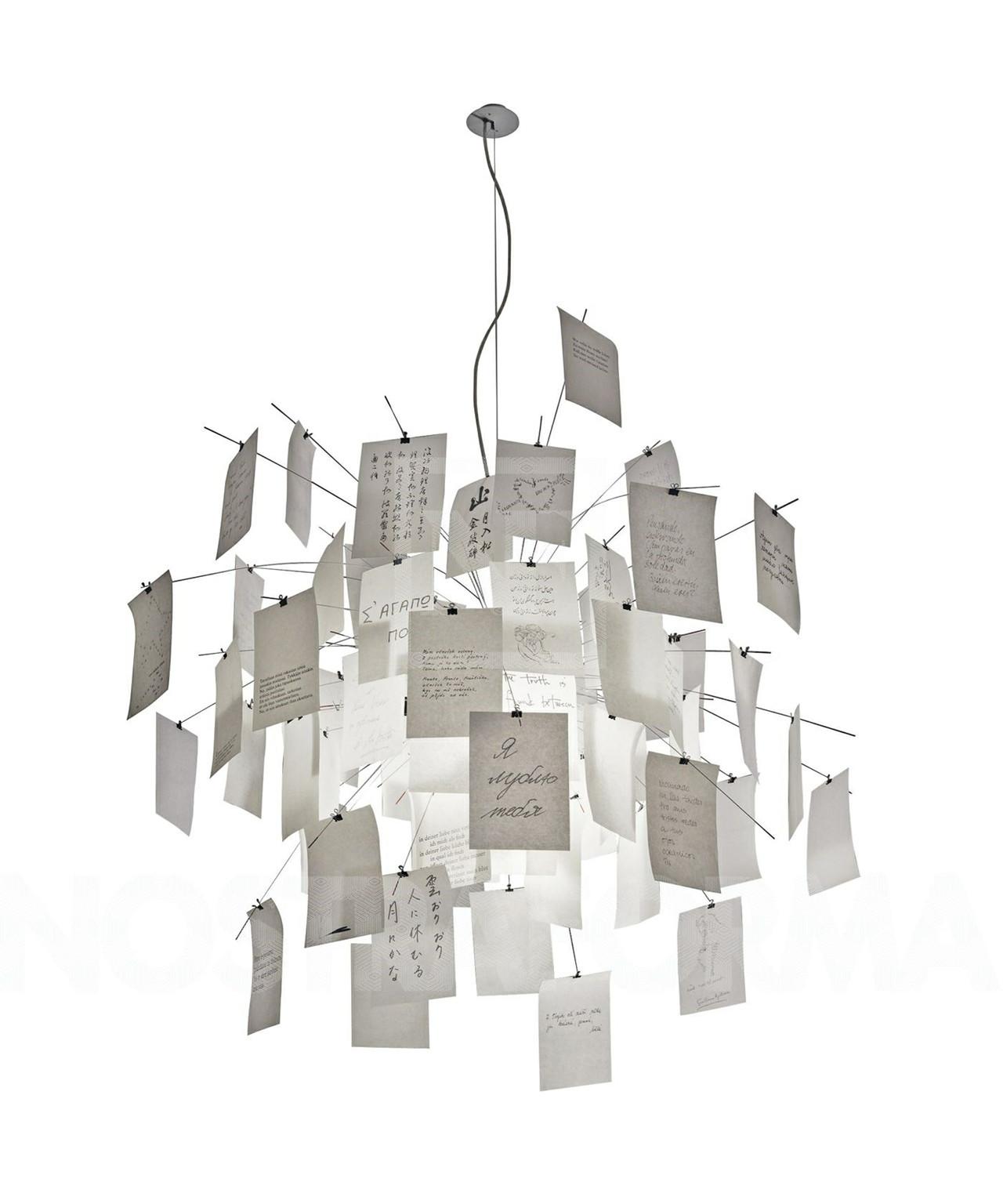 zettel 39 z lampe 5 taklampa 120cm taklampa ingo maurer. Black Bedroom Furniture Sets. Home Design Ideas