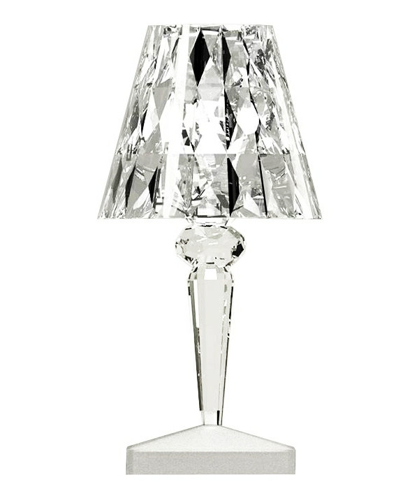 Image of   Battery Bordlampe Krystal - Kartell