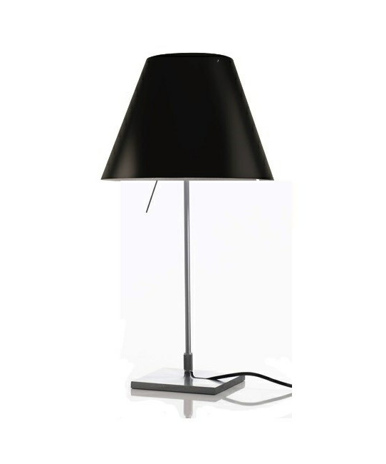 Image of   Costanzina Bordlampe Liquorice Black - Luceplan