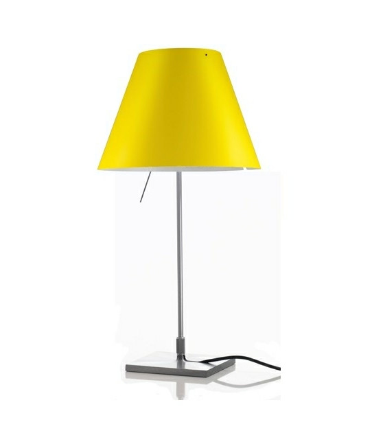 Image of   Costanzina Bordlampe Smart Yellow - Luceplan