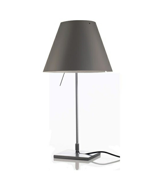 Image of   Costanzina Bordlampe Concrete Grey - Luceplan