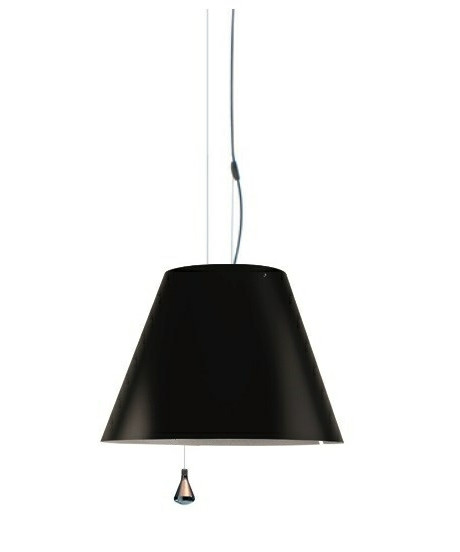 Image of   Costanza Pendel Up/Down Liquorice Black - Luceplan