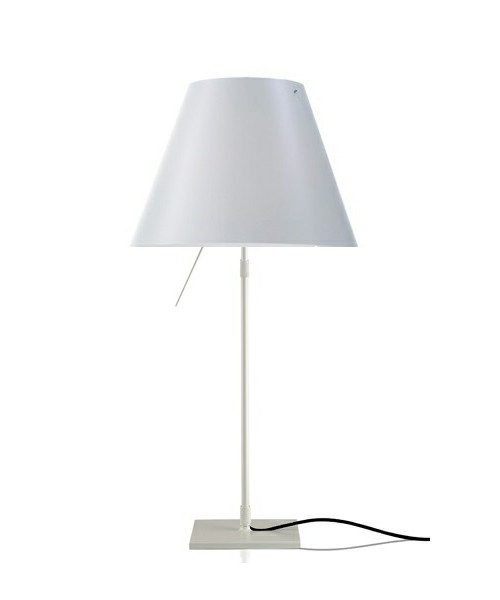 Image of   Costanza Bordlampe Alu/ White - Luceplan