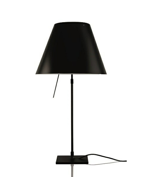 Image of   Costanza Bordlampe m/Dimmer Sort/Liquorice Black - Luceplan
